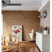 后现代风格简约客厅地板装饰