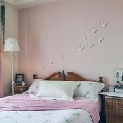粉色别墅卧室设计