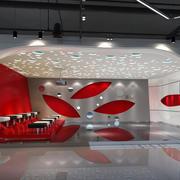 现代简约风格展厅吊顶装饰
