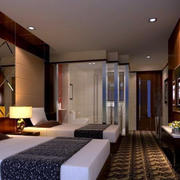 深色调宾馆装修设计