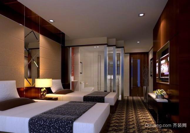 温馨和谐气氛小宾馆装修效果图