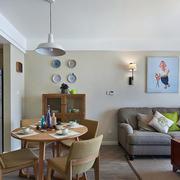 简约白色别墅客厅沙发设计