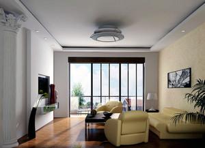 都市大户型房间布置客厅装修效果图