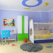 现代儿童房吊顶设计