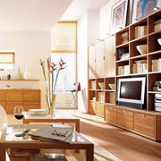 客厅收纳电视柜