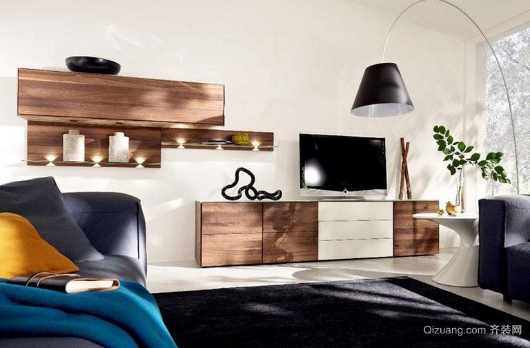 全新时尚家居组合电视柜收纳效果图