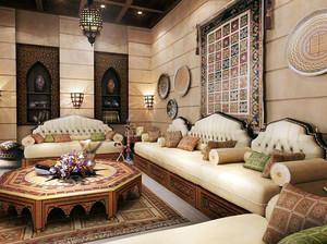 美轮美奂欧式风格客厅家居装修效果图