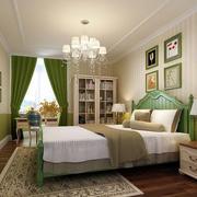 清新绿色卧室壁纸