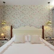 清淡系列卧室壁纸装修