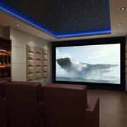 家庭影院屏幕设计