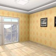 黄色调液体壁纸设计