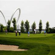 现代都市高尔夫球场