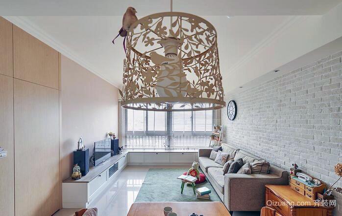2016简约舒适型两层复式家居装修图
