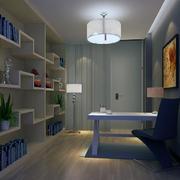 现代书房灯光设计