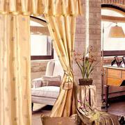 客厅奢华风格别墅窗帘设计