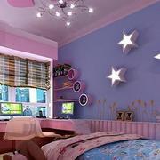 儿童房背景墙效果图