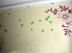 大户型宜家风格液体壁纸效果图片