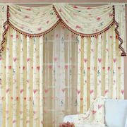欧式别墅田园风格窗帘装饰