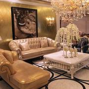 欧式奢华客厅家居设计