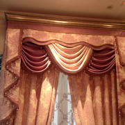 古堡风别墅窗帘设计