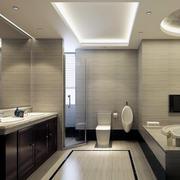 卫生间吊顶灯光设计