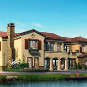 现代别墅外景图