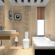 卫生间背景墙整体设计