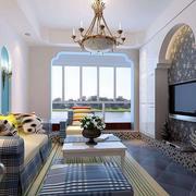 清新家居沙发装饰
