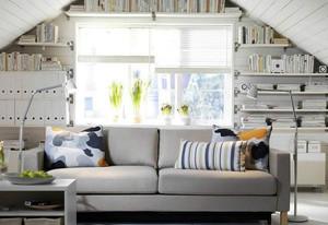 全新家居书房小书架装修效果图