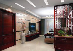 现代客厅精装图