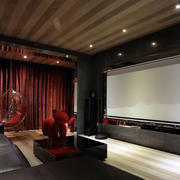 精致型家庭影院设计
