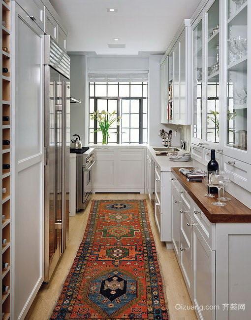 2016精致小户型欧式厨房装修效果图