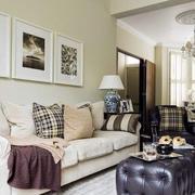 法式风格别墅简约沙发装饰