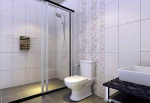 单身公寓精致风格卫生间装修效果图