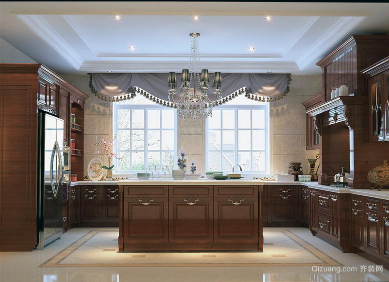 大户型欧式厨房装修效果图