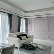 三室一厅简约型隔板间
