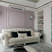 三室一厅超级简约的客厅沙发