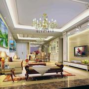 大户型欧式客厅装修效果图
