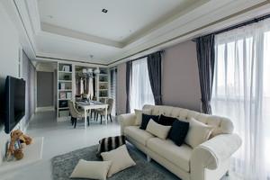 128平米三室一居现代家居装修图例