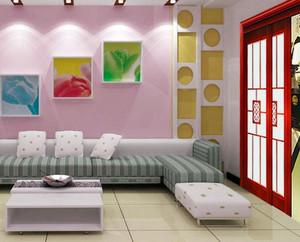 现代简约风格卧室木门装饰