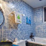 地中海风格复式楼卫生间通气窗设计