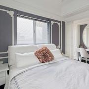白色纯净型三室一厅