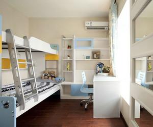 欧式简约风格儿童房床饰设计