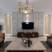 欧式小户型电视背景墙装修效果图