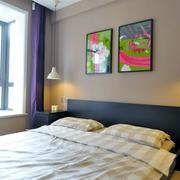 三室一厅超级简约的卧室灯光设计