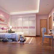 房间木地板效果图片