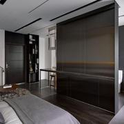 公寓卧室隔断墙欣赏