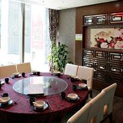 酒楼餐桌效果图片