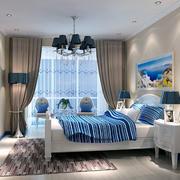 现代卧室飘窗设计图