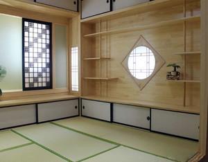 日式经典系小户型原木榻榻米装修效果图